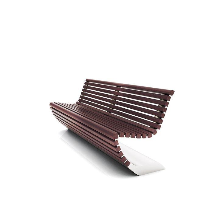 Urban Furniture Model Bench Design Stephane Chapelet