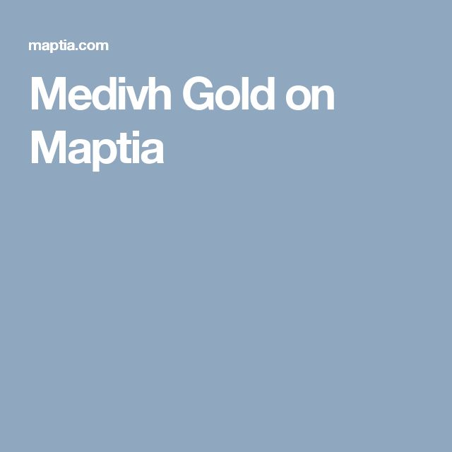 Medivh Gold on Maptia
