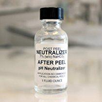 Chemical Skin Peel Neutralizer - Post Peel pH Balancer