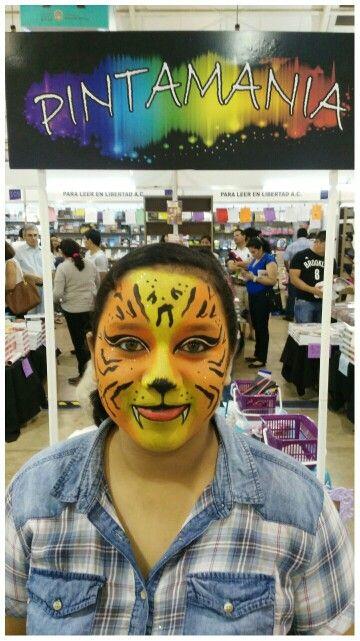 Face paint tigre