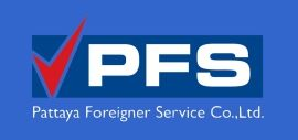 New logo Pattaya Foreigner Service Co.,Ltd