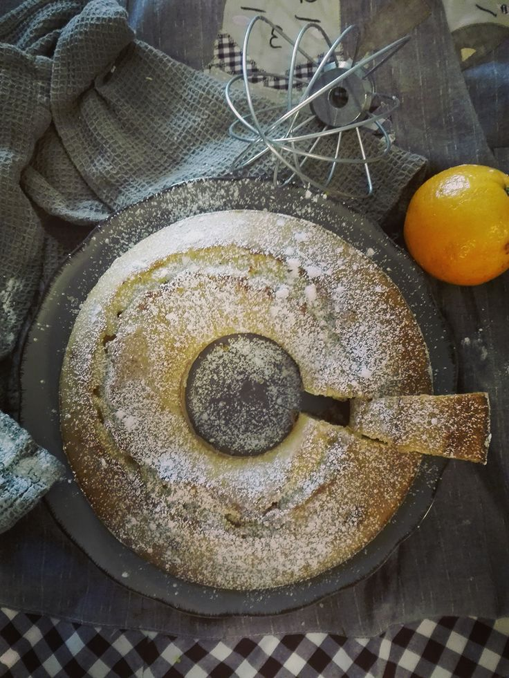 ciambellone all'acqua d'arancia