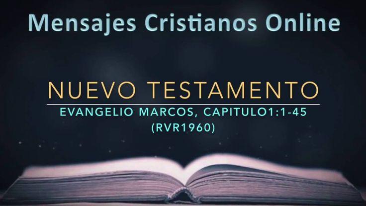 1) NUEVO TESTAMENTO - MARCOS1:1-45 - LA BIBLIA EN VIDEO AUDIO HABLADA - ...
