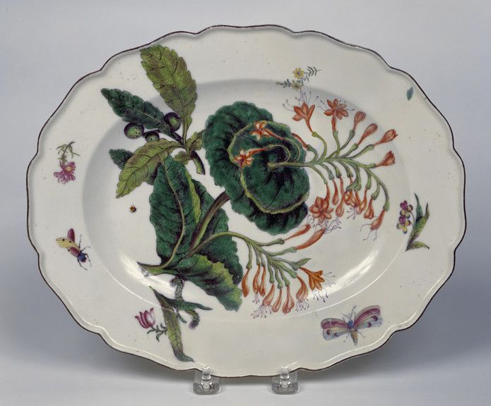 Chelsea Porcelain Factory manufacturer English ca. - Serving Dish ca. 1754 - Porcelain with glaze and enamels x x cm x 12 x 10 inches) & 181 best Chelsea porcelain images on Pinterest | Dishes Painted ...