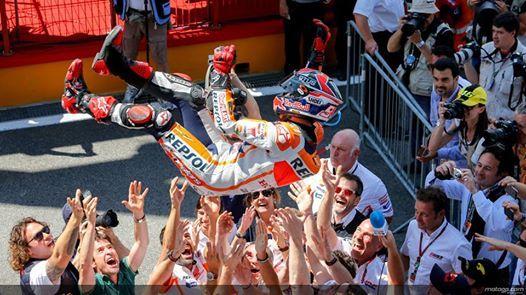 #MotoGP ~ #MARC_MARQUEZ_the_BEST / June 1, 2014 / Marquez ecstatic to continue winning streak http://www.motogp.com/en/news/2014/Marquez+ecstatic+to+continue+winning+streak