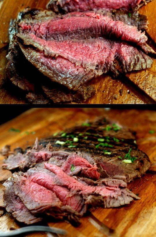 102 best flank steak recipes images on pinterest meat roasts and savory snacks - Best marinade for filet mignon on grill ...