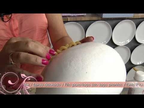 Faça uma linda Bomboniere de Páscoa com isopor! - YouTube