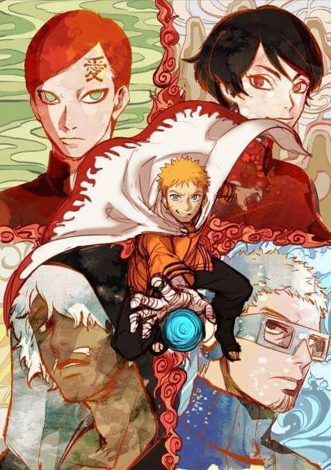 Naruto - The New 5 Kage