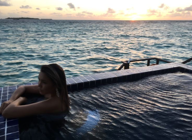 Maldives private swimming pool Мальдивы частный бассейн