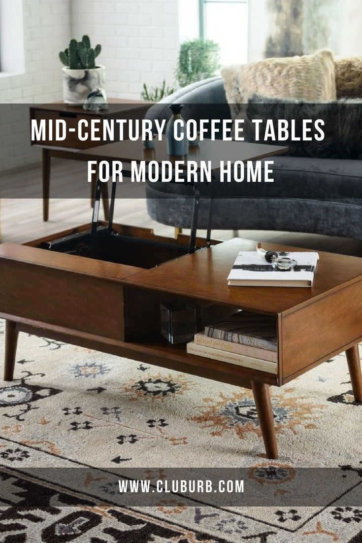 10 Best Mid Century Modern Coffee Tables Mid Century Modern Coffee Table Coffee Table Modern Coffee Table Decor [ 1102 x 735 Pixel ]