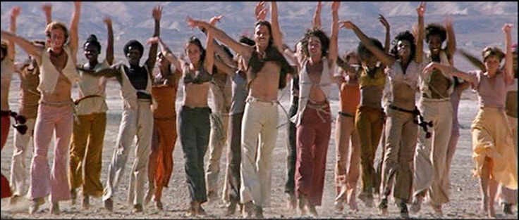 Jesus Christ Superstar Dancers that includes Ted Neeley's future wife ... she's the lady in grey just to the left of the front male dancer in white pants :)