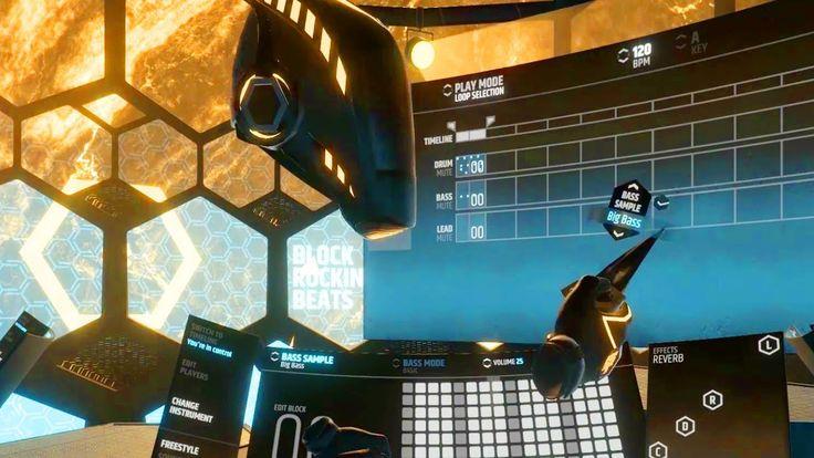Block Rocking Beats VR Video Game Trailer 2017【HTC Vive