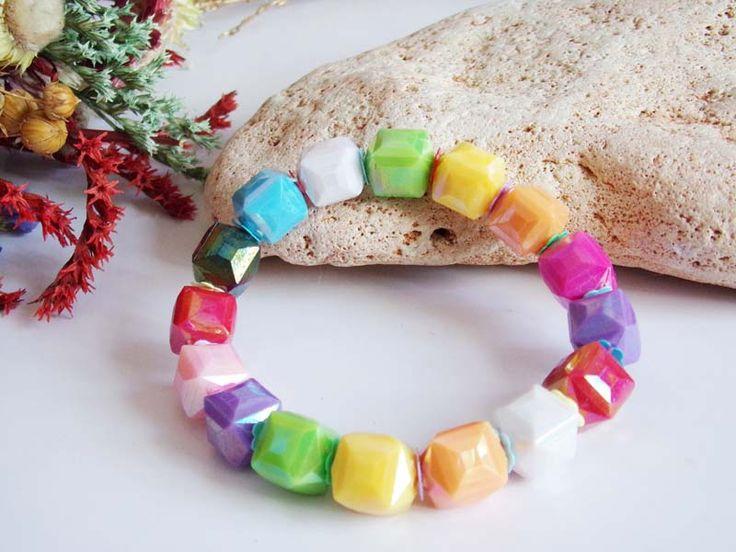 Bratara elastica Rainbow