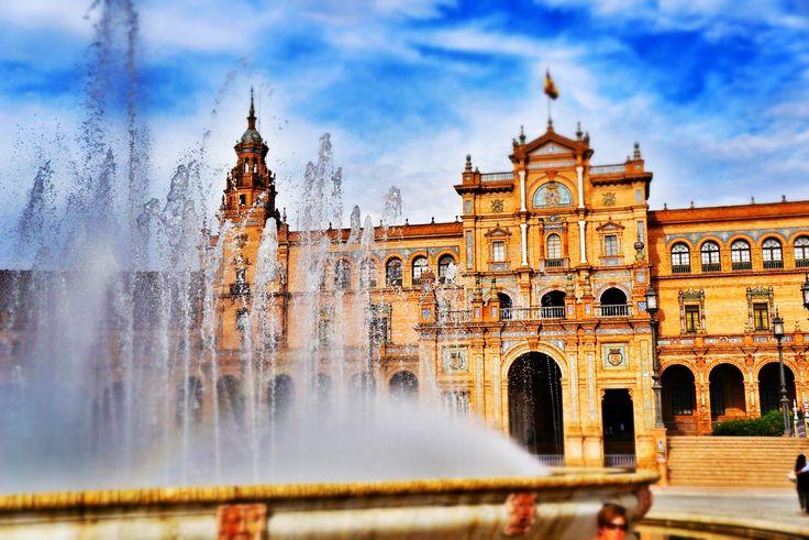 Plaza de Espania, Sevilla, Spain