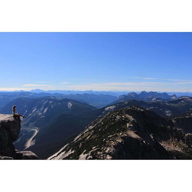 Located in Coquihalla Provincial Park, Yak Peak is a breathtaking hike and a popular rock climbing and cross country skiing area. Photo: @hikingtheokanagan via Instagram