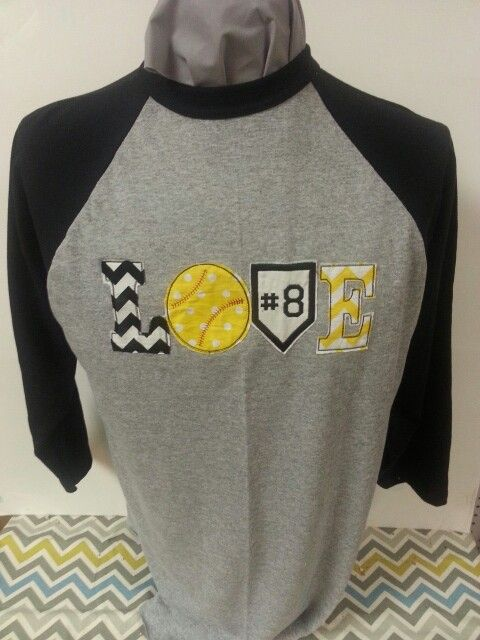 This cute shirt is great for softball or baseball....we can make to custom for your team.  Order today!!!!