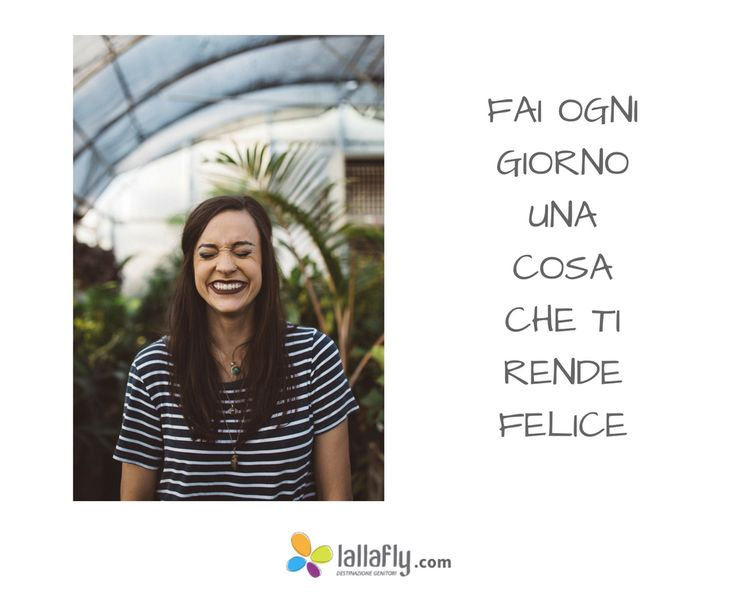 Coltiva la gioia, dai importanza alle tue #emozioni. Ne parliamo nel per-corso gratuito Come utilizzare le emozioni per diventare il genitore che vorresti essere. Iscriviti sul sito http://www.lallafly.com