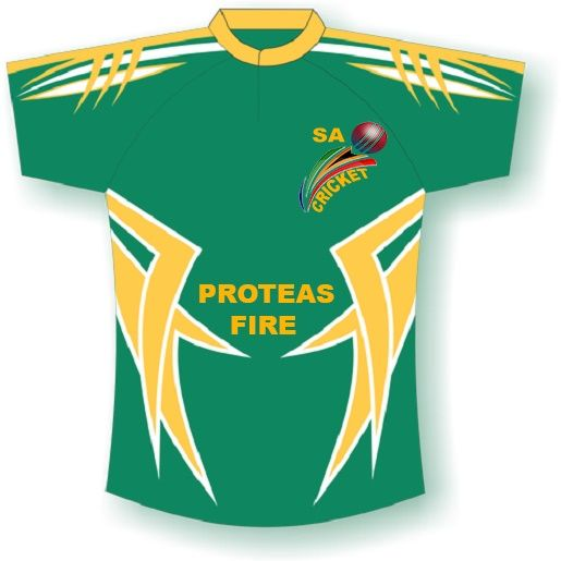 Proteas Supporters shirt, that is unique.
