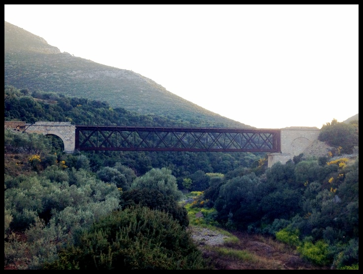 The old Monemvasia bridge