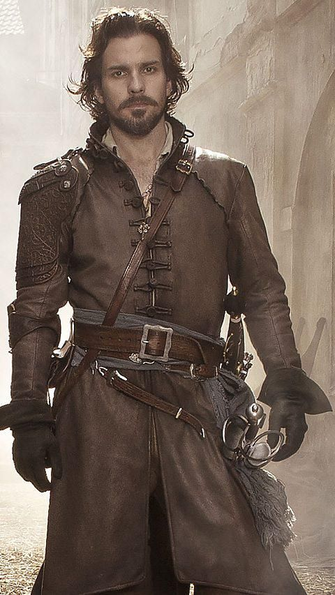 Aramis / The Musketeers #2. Full costume including hair and beard.