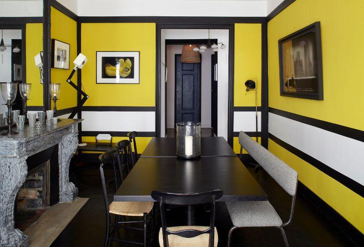 images de salons décorés en jaune - Recherche Google