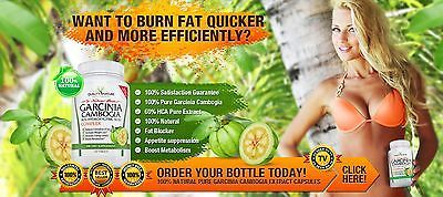 100% PURE GARCINIA CAMBOGIA - COLON Cleanse/DETOX - Weight Loss Diet Pill