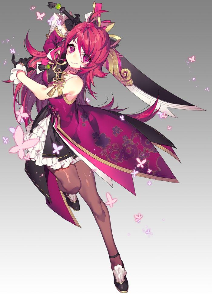 Gnomon Character Concept Design : Elesis elsword zerochan anime pinterest