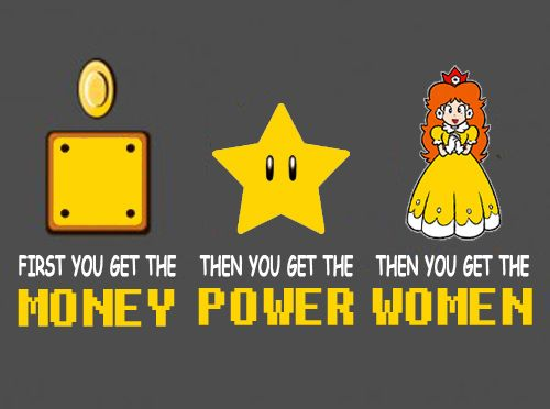 008 First you get the money then you get the power then you