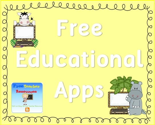 Here are 15 popular math apps for the classroom.     Click on the link to the app to read more about these fabulous freebies. All Free Teacher Resources blog