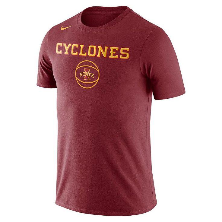 Men's Nike Iowa State Cyclones Basketball Local Tee, Red
