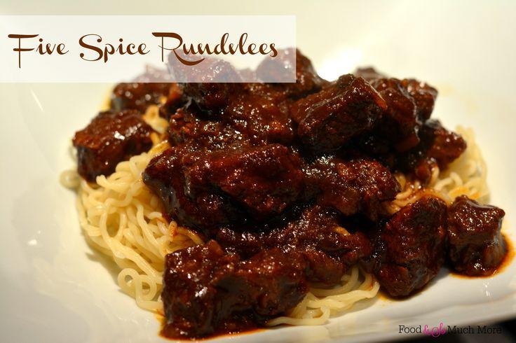 Deze five spice rundvlees is makkelijk te maken en je hebt echt een zalig stoofgerecht op tafel. Lekker met rijst of noedels en een beetje groente.