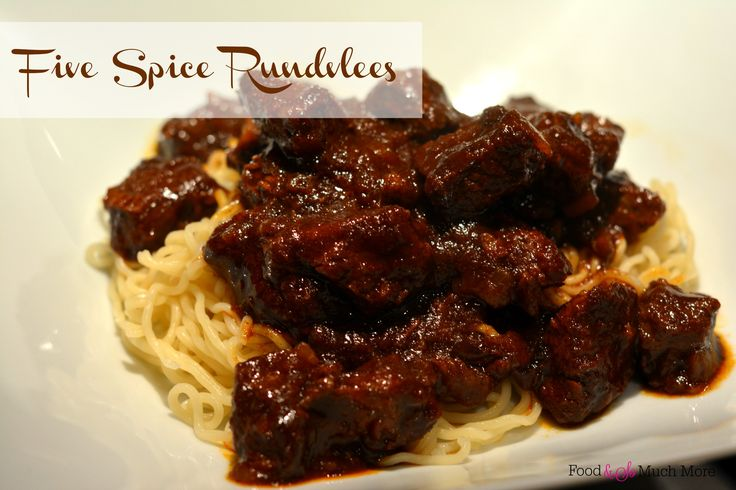 Five spice rundvlees // Food & So Much More