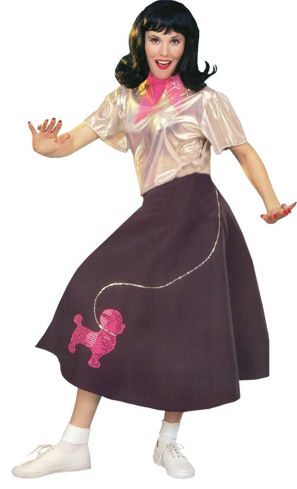 Make a Poodle Skirt with a DIY Pattern Poodle skirts