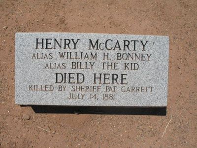 Old Fort Sumner and The Death of Billy the Kid