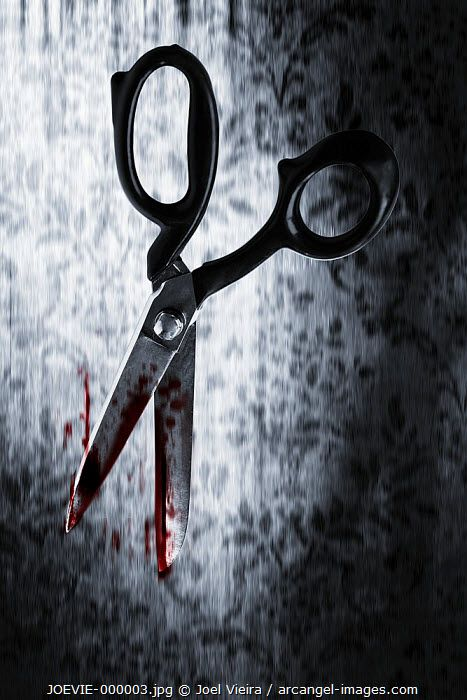 www.arcangel.com - scissors-to-fall-bloody-background-wall-carved