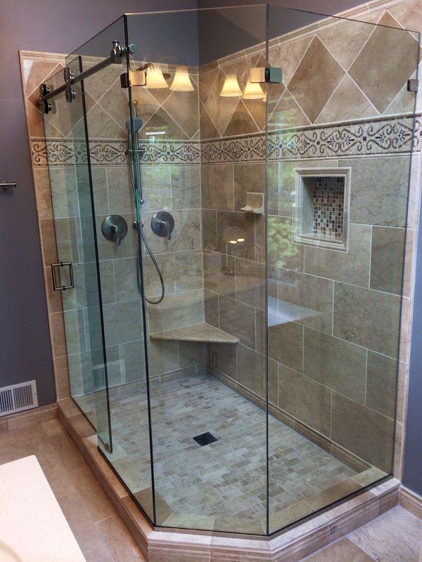 Custom Showers Pro Glass. Gallery of our work  Pro Shower Doors DC MD VA DE Awesome ShowersGlass EnclosuresCustom 20 best Regal Enclosures images on Pinterest Glass shower