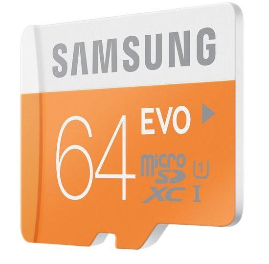 Samsung EVO 64GB Micro SDXC: card MicroSD cu multi 'giga' la doar 64 lei | GadgetLab.ro