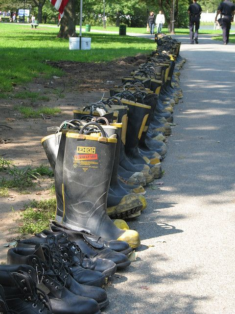 valoreon:  Firefighters Boots by jsinks on Flickr.