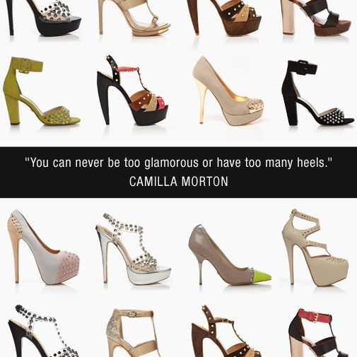 Everything about this quote is fabulous. #shoes #quote