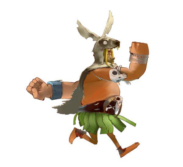 ArtStation - Stone Age Character Animation, Vyasheslav Borovik