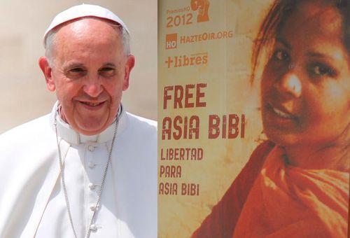 Asia Bibi agradece en carta al Papa Francisco las oraciones por su liberación