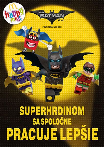 Kinder Lego Fan: Budúci happy meal  LEGO  BATMAN   Superhrdinom sa ...