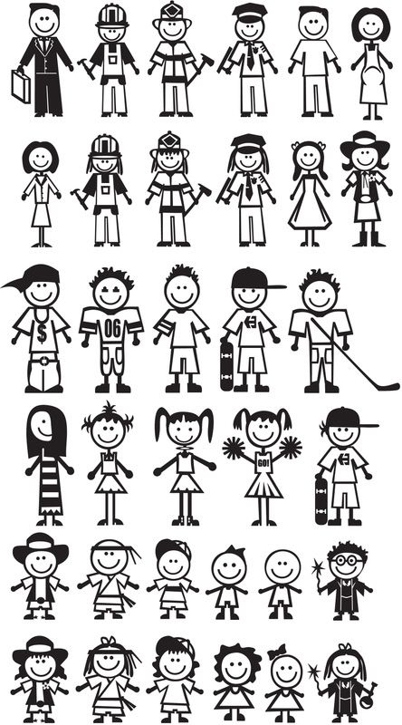 Stick People : More Than Words Design