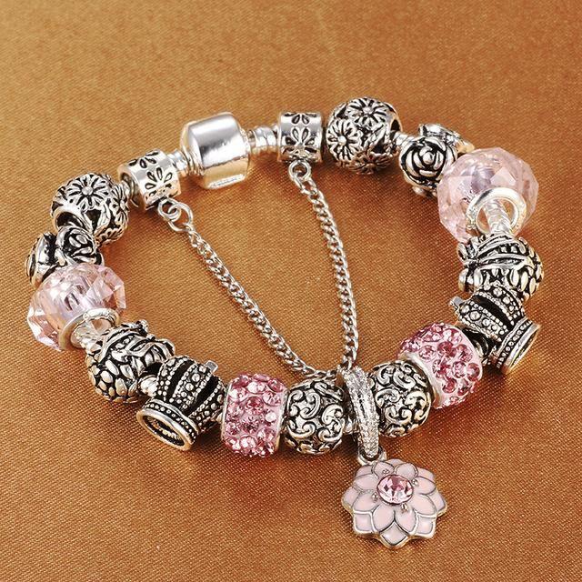Crown Beads charm bracelets