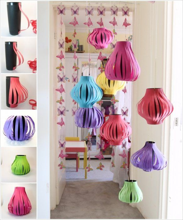 11 Ways to Reuse Paper and make Handmade Lamps