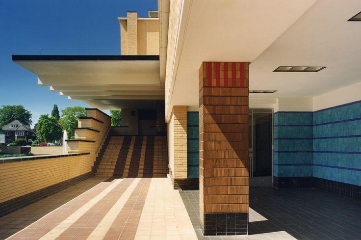 Raadhuis te Hilversum architect Dudok