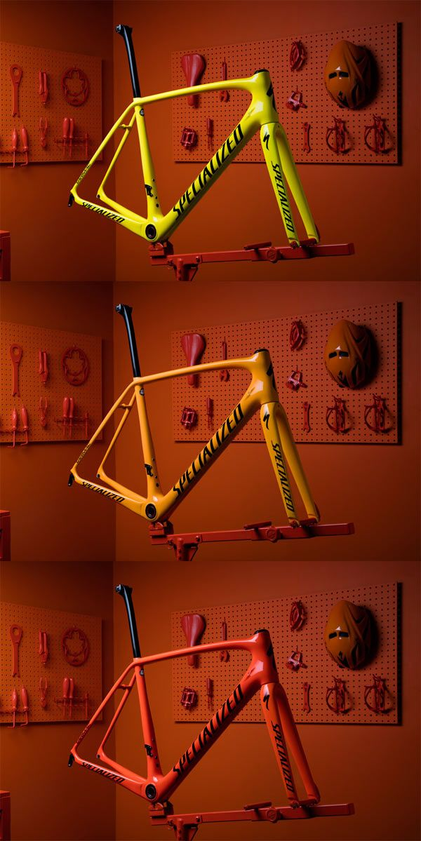 Specialized fires up color-changing, heat-sensitive paint for Olympians