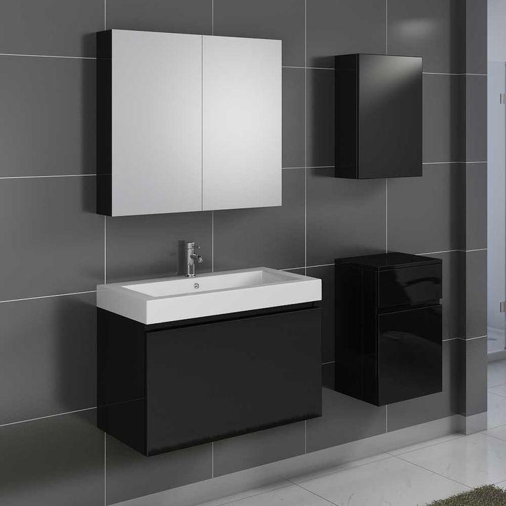 Moderne badezimmermöbel schwarz  Die besten 25+ Badezimmermöbel set Ideen auf Pinterest