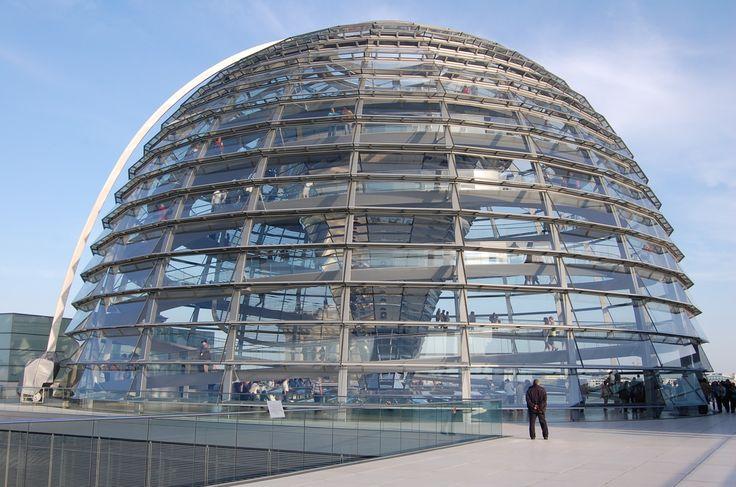 Berlin - Le Reichstag de Norman Foster - LANKAART