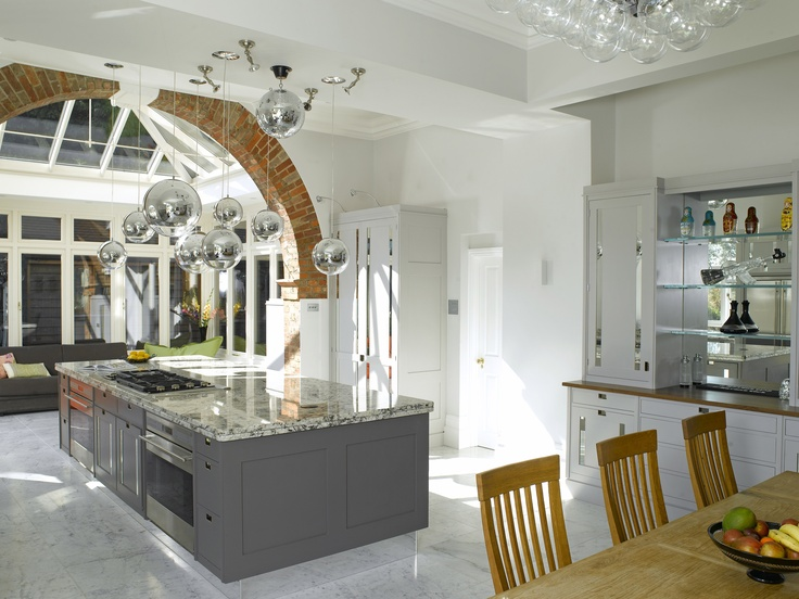Inspiration for brontes kitchen oak glass extension from the book reckless nights in rome